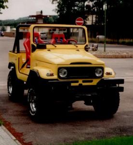 RENATO Sitze in einem Jeep Geländewagen