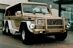 RENATO Sitze in einem Mercedes
